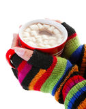 Hot Chocolate for a Cold Day Stock Photography