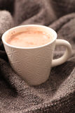 Hot chocolate comfort Royalty Free Stock Image