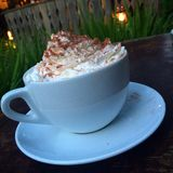 Hot Chocolate. Comfort and peace royalty free stock image