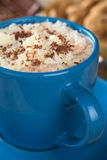 Hot Chocolate with Cream Royalty Free Stock Images