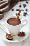 Hot Chocolate in cup Stock Image