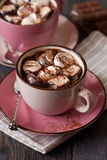 Hot chocolate. Stock Photo