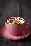 Hot chocolate. Royalty Free Stock Photography