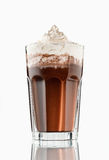 Hot chocolate. Cup of hot chocolate with whipped cream Royalty Free Stock Photography