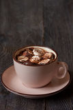 Hot chocolate. Royalty Free Stock Images