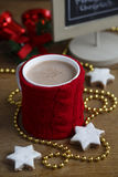 Hot chocolate drink Stock Image