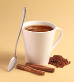 Hot chocolate drink Royalty Free Stock Image