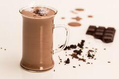 Hot Chocolate, Drink, Dairy, Winter Stock Images