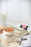Hot chocolate drink Royalty Free Stock Images