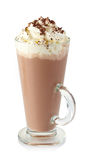 Hot chocolate drink Stock Photography