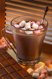 Hot Chocolate Drink - Marshmallows Stock Photography