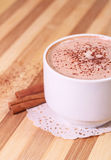 Hot chocolate drink Royalty Free Stock Photography