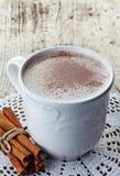 Hot chocolate drink Stock Photo