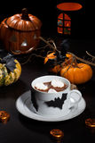Hot Chocolate for Halloween Royalty Free Stock Photo