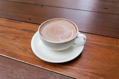 Hot chocolate malt Stock Photo