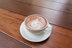 Hot chocolate malt Stock Image
