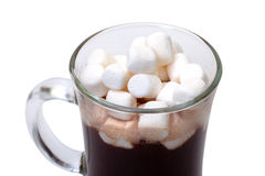 Hot Chocolate with Marshmallows Royalty Free Stock Photography