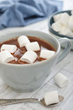 Hot chocolate and marshmallows Royalty Free Stock Photography