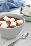 Hot chocolate and marshmallows Royalty Free Stock Photos