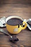 Hot chocolate in mug Royalty Free Stock Photo