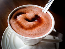 Hot Chocolate in a mug Stock Images
