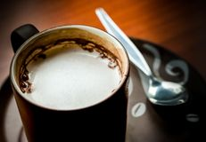 The hot chocolate Stock Photography