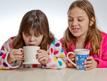 Hot Chocolate Taste Stock Photos