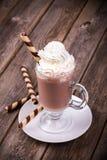 Hot chocolate vintage Stock Photos
