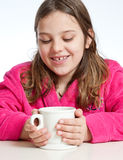 Hot Chocolate Warm Hands Stock Images
