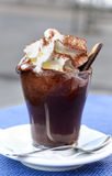 Hot chocolate with whipped Royalty Free Stock Photography