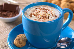 Hot Chocolate with Whipped Cream Royalty Free Stock Images