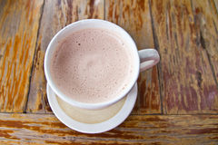 Hot chocolates Stock Photography