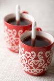 Hot Christmas drink Royalty Free Stock Images
