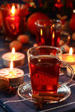Hot Christmas drink Royalty Free Stock Image