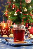 Hot Christmas drink Stock Photography