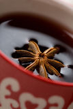 Hot Christmas glogg Stock Images