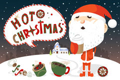 Hot Christmas Stock Image