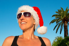 Hot Christmas vacation Stock Photos