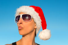 Hot Christmas vacation Royalty Free Stock Photography