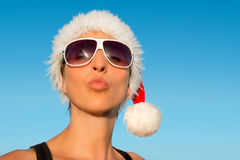 Hot Christmas vacation Royalty Free Stock Images