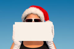 Hot Christmas vacation Stock Images