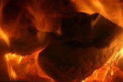 Hot Coals Royalty Free Stock Image