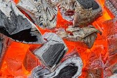 Hot Coals Stock Photos