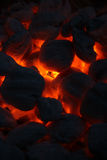 Hot Coals 3 Royalty Free Stock Images
