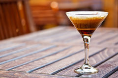 Hot cocktail coffee Royalty Free Stock Photography