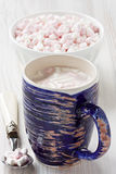 Hot cocoa beverage Royalty Free Stock Image