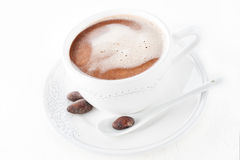 Hot cocoa drink Royalty Free Stock Photography
