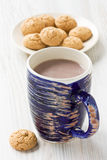 Hot cocoa drink Royalty Free Stock Images