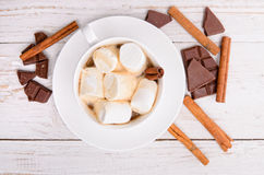 Hot cocoa. Royalty Free Stock Photos