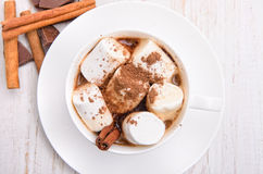 Hot cocoa. Royalty Free Stock Photography